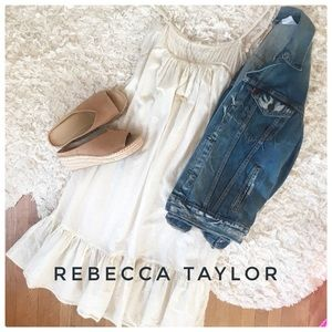 {Rebecca Taylor} oversized baby doll dress